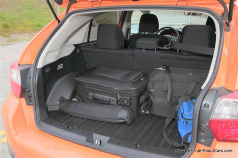 subaru crosstrek interior back 2013 subaru crosstrek interior rear seats picture