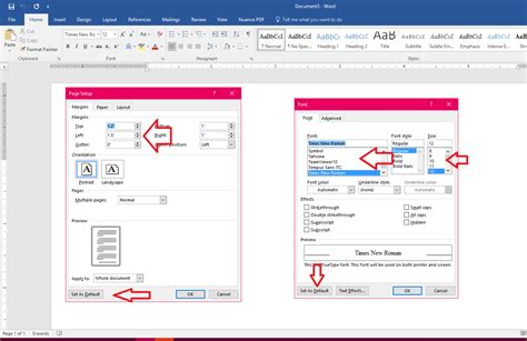 setting margins in word learn new things ms word how to set default page setup