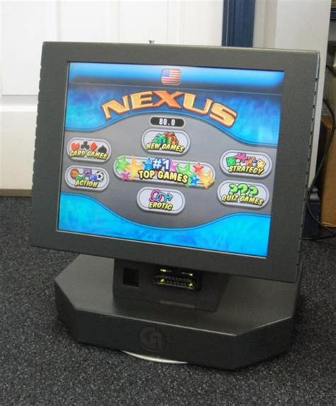 bar top games nexus countertop s2 2 2 video game arcade machine