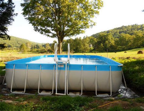 how to level backyard for pool intex pool unlevel