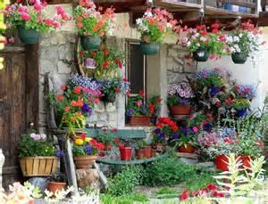 mon jardin fleuri maison fleuri