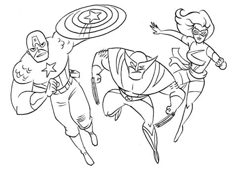 printable marvel characters coloring pages coloring home