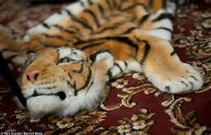 Faux Animal Skin Rug From Mandela House To Ideal Home Del Boy S Lounge Is Recreated For Exhibition Complete With