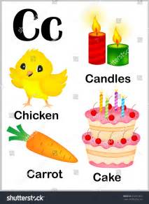 colorful alphabet letter c set stock vector 232963465