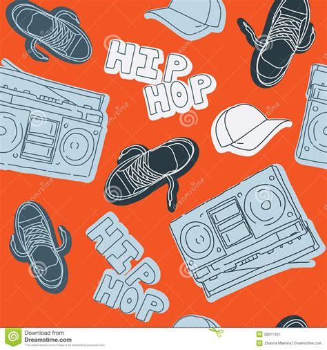 hip hop beatbox pattern hip hop music seamless pattern stock image image 28211451