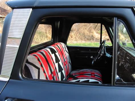 Bergen Auto Upholstery by The Analog Almanac Mexican Blanket Car Interiors