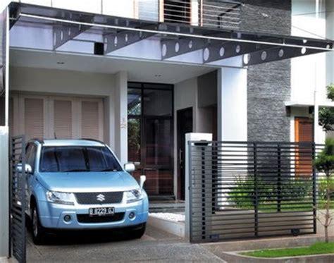 hauptundneben gambar contoh desain garasi rumah minimalis modern