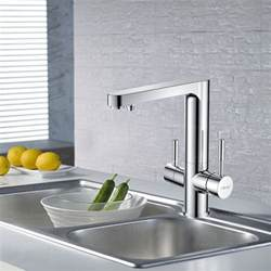 High End Kitchen Sink High End Chrome Brass Vessel Mount With Drink Water Kitchen Sink Faucets 202 99