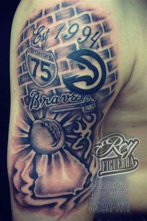 atlanta hawks tattoo best 25 atlanta ideas on atlanta