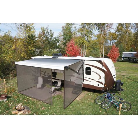 travel trailer awning screen room solera screen room 20 ebay