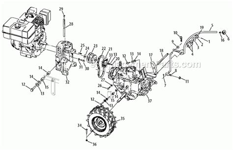 troy bilt tiller carburetor diagram troy bilt tiller parts diagram wiring diagram and