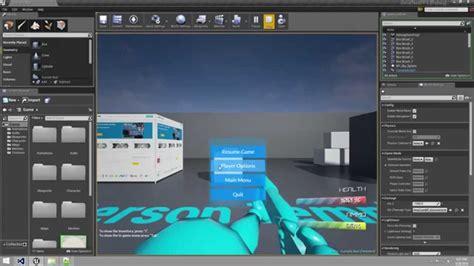 video tutorial unreal unreal engine 4 video tutorials using coherent ui unreal