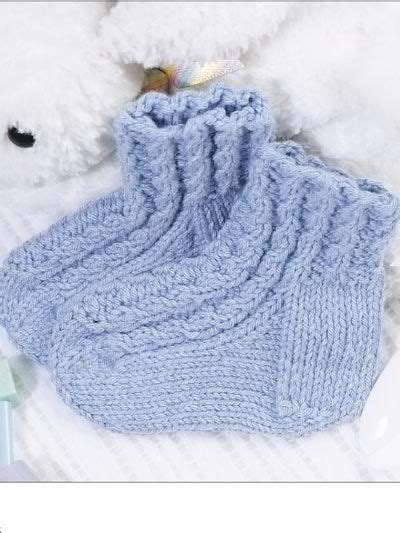 cable knit newborn baby cables socks craft ideas patterns