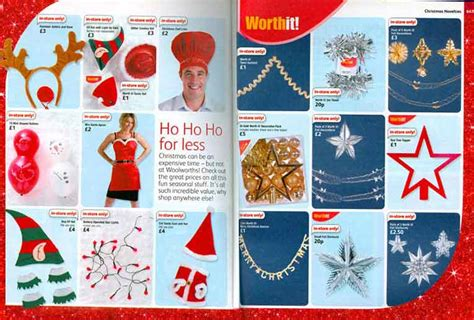 christmas ideas catalogues decorations at f w woolworth