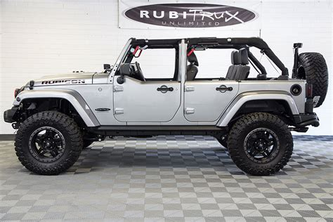 Jeep Rubicon No Doors by 2016 Jeep Wrangler Rubicon Unlimited Billet