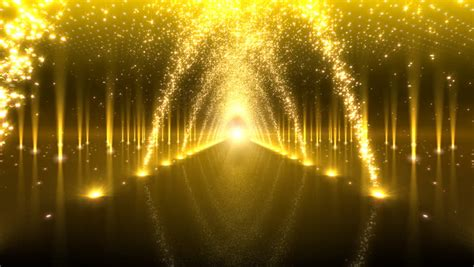 Idw065 Gold Led Light Size 15 led light space stock footage 1297972