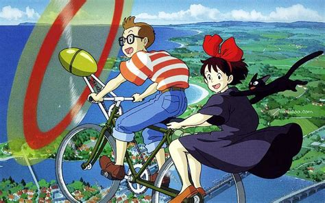 liste film animation ghibli miyazaki masterpieces kiki s delivery service wallpaper