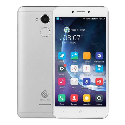 phone 3 from mobile china mobile a3s 5 2 inch 2gb 16gb smartphone silver