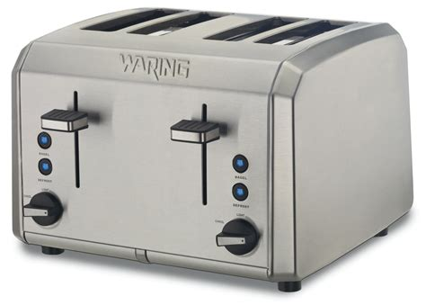 Waring Pro 4 Slice Toaster waring pro wt400 4 slice toaster appliances small kitchen appliances toasters