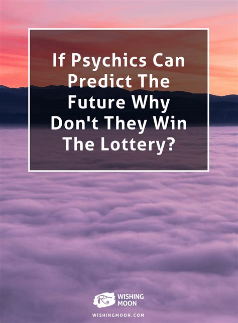 Do You Win Money If You Win The Olympics - if psychics can predict the future why don t they win the