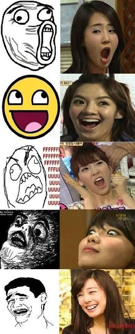 Snsd Funny Memes - news snsd members facial expression translates to