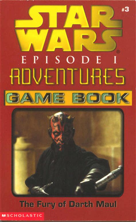 the fury books the fury of darth maul book wars episode 1