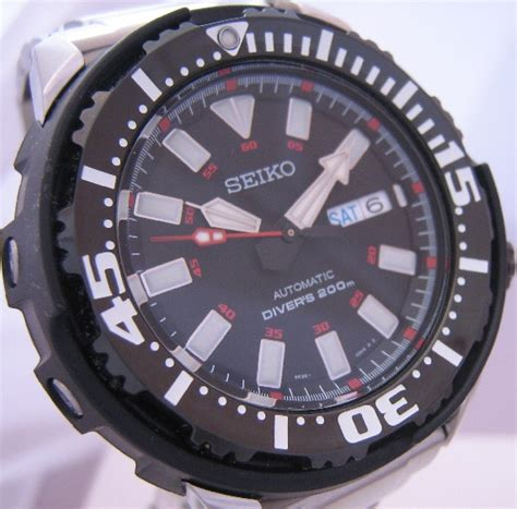 Seiko Skz283k1 Diver Superior Silver pre owned used watches from quality time watches uk