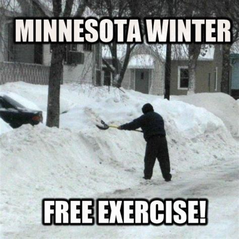 Shovel Meme - how to lose that thanksgiving belly fat fast streets mn
