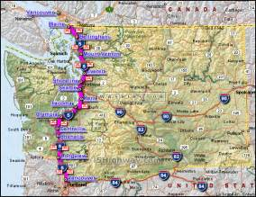 i 5 california map interstate 5 california distance map images frompo