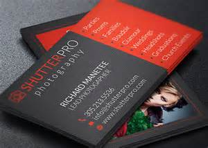 portrait business card template photography business card templates