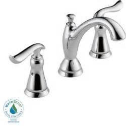 home depot vanity faucets delta linden 8 in widespread 2 handle high arc bathroom