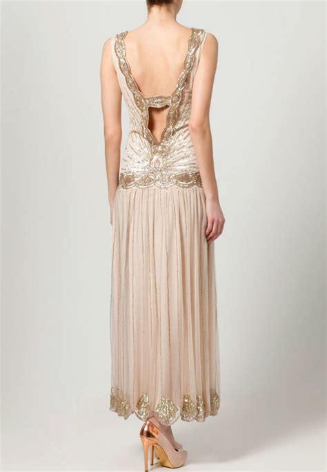 kleider im swing stil r 252 ckenfreies kleid lang mit perlen tipps