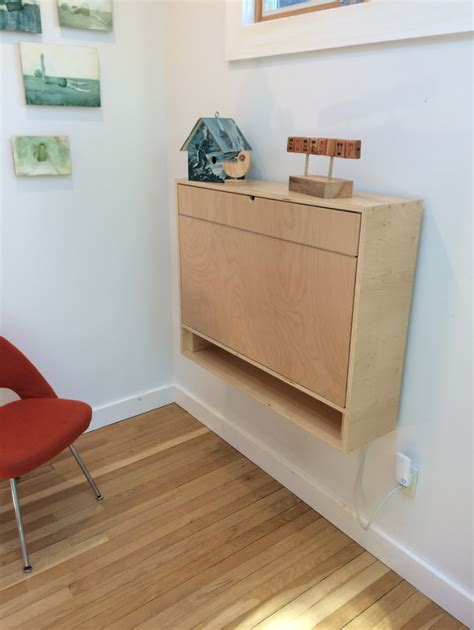how to build a compact fold desk for small spaces