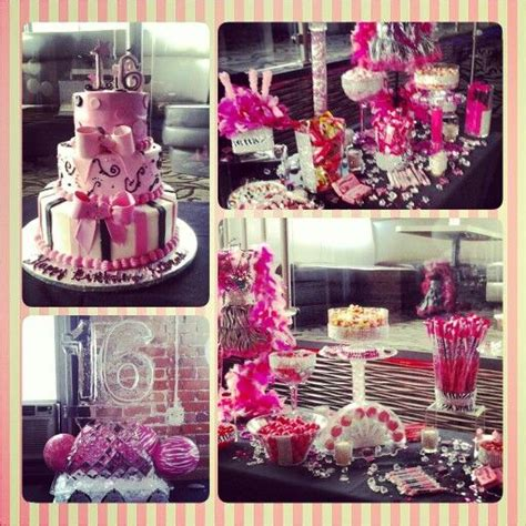 sweet 16 theme decorations 78 best images about domineek s sweet 16