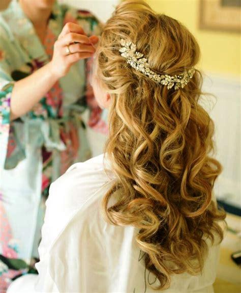 half up half down loc hairstyles 20 elegant half up half down curly hairstyles ideas