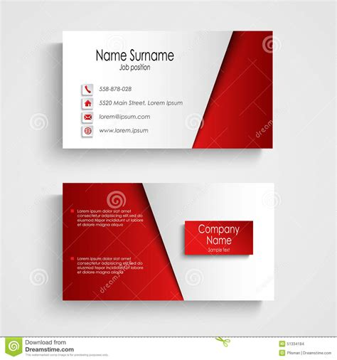 business card template eps eps business card template choice image business cards ideas