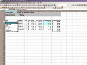 Salvation army donation excel spreadsheet