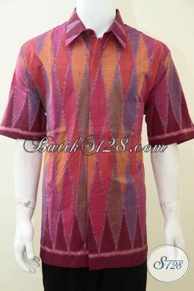Kain Tenun Batik Troso Blanket Premium Halus kemeja tenun mewah dengan daleman furinf baju tenun