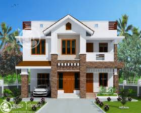 Home Design Kerala 2016 1905 Sq Ft Modern Style Double Floor Home Design Home