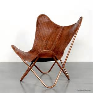Leather Butterfly Chair by Xavier Leather Butterfly Chair