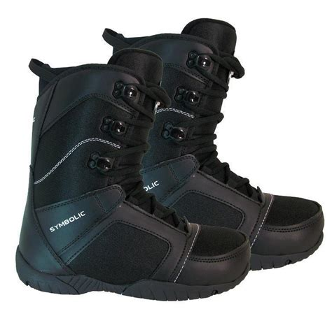B1485 13 Sz 7 9 11 13 15 105rb symbolic ultra light mens black snowboard boots size 7 8 9 10 11 12 13 winter warehouse