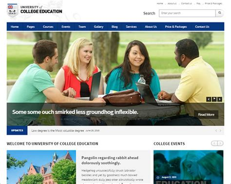 bootstrap templates for college 22 education bootstrap themes templates free