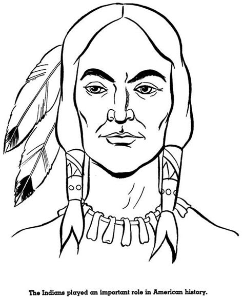 indian face coloring page 30 native american coloring pages coloringstar