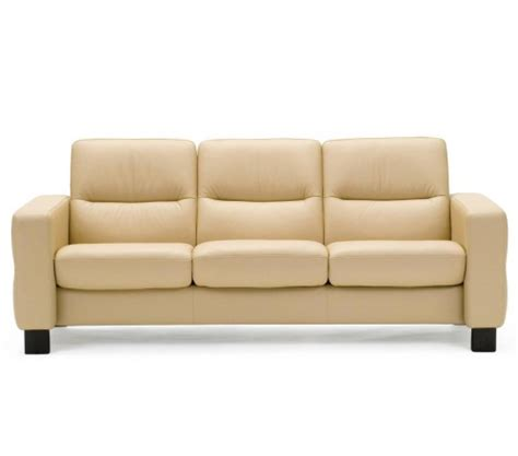 low back reclining sofa stressless wave low back sofa from 2 995 00 by stressless