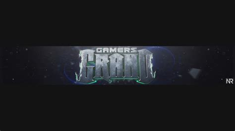 graphic design youtube banner grand gamers youtube banner by nr graphic on deviantart