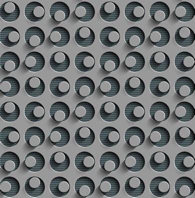 vector pattern metal metal perforated seamless vector pattern free vector in