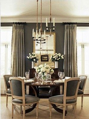 Large Mirror Dining Room by Dining Room Elements Candle Chandelier Grey Walls