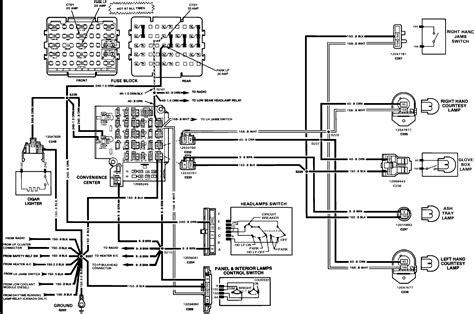 cab wiring diagram   chevy  ton