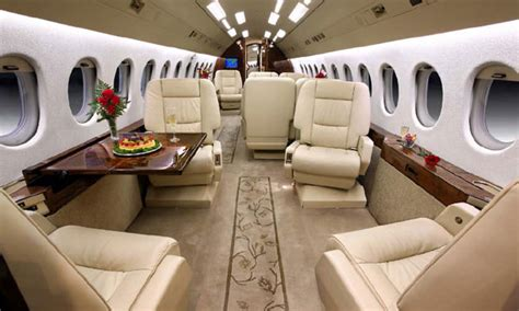 Falcon 900 Interior by World S Most Expensive Jets