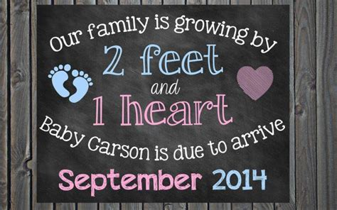free printable pregnancy announcement templates chalkboard pregnancy announcement pregnancy reveal 2